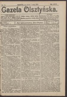 Gazeta Olsztyńska, 1910, nr 54