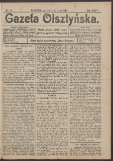 Gazeta Olsztyńska, 1910, nr 55