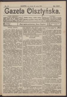 Gazeta Olsztyńska, 1910, nr 62