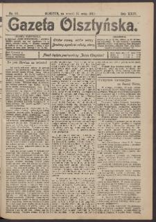 Gazeta Olsztyńska, 1910, nr 63