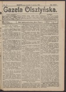 Gazeta Olsztyńska, 1910, nr 67