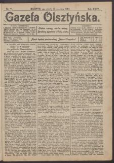 Gazeta Olsztyńska, 1910, nr 71