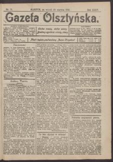 Gazeta Olsztyńska, 1910, nr 75