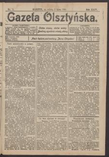 Gazeta Olsztyńska, 1910, nr 77