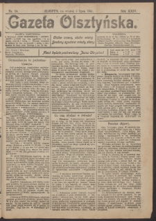 Gazeta Olsztyńska, 1910, nr 78