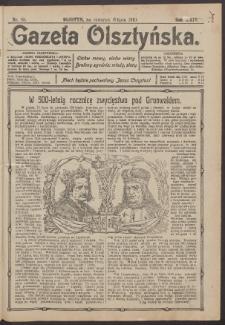 Gazeta Olsztyńska, 1910, nr 82