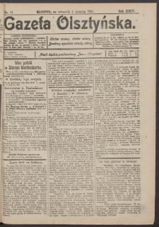 Gazeta Olsztyńska, 1910, nr 91