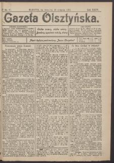 Gazeta Olsztyńska, 1910, nr 97