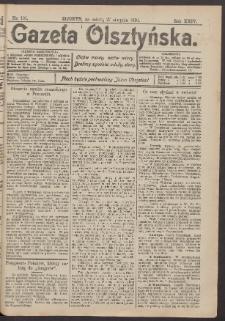 Gazeta Olsztyńska, 1910, nr 101