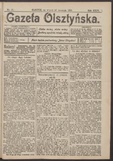 Gazeta Olsztyńska, 1910, nr 111