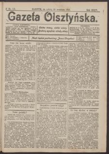 Gazeta Olsztyńska, 1910, nr 113