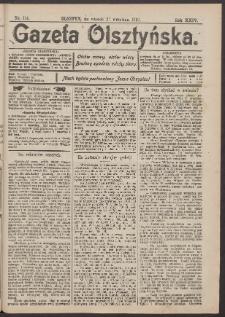 Gazeta Olsztyńska, 1910, nr 114