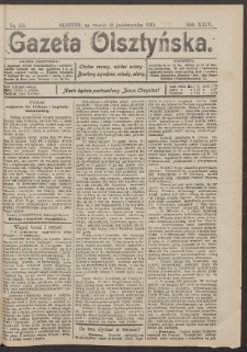 Gazeta Olsztyńska, 1910, nr 123