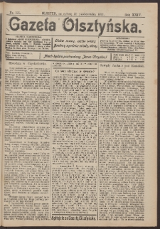 Gazeta Olsztyńska, 1910, nr 126