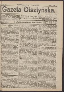 Gazeta Olsztyńska, 1910, nr 131