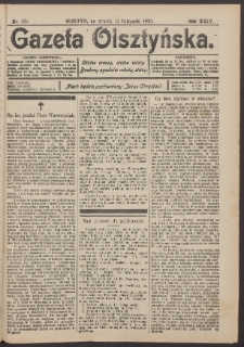Gazeta Olsztyńska, 1910, nr 135