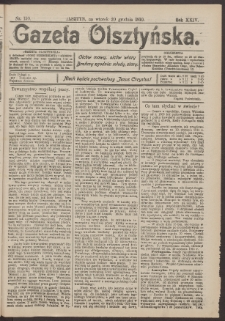 Gazeta Olsztyńska, 1910, nr 150