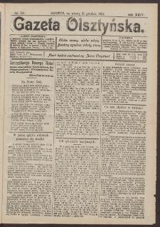 Gazeta Olsztyńska, 1910, nr 154