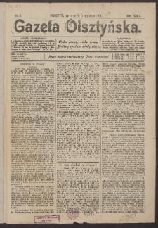 Gazeta Olsztyńska, 1911, nr 1