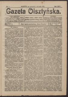 Gazeta Olsztyńska, 1911, nr 2